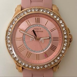 Juicy Couture Rose Gold Pedigree Watch
